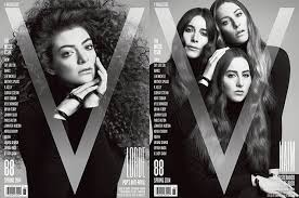 haim poster lorde and haim cover v magazine s march issues exclusive