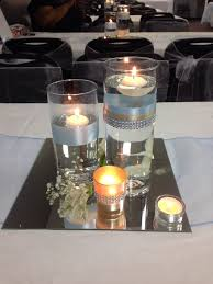 Vase And Candle Centerpieces by Best 25 Mirror Centerpiece Ideas On Pinterest Wedding Reception