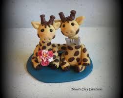 giraffe cake topper giraffe cake topper giraffe wedding cake topper animal cake