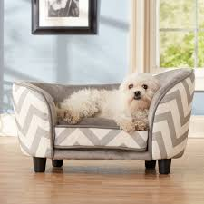 Plush Sofa Bed This Trendy Sofa Bed Features A Chevron Print And Sturdy Wooden