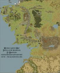 Map Middle Earth Middle Earth Map Wesnoth By Mistikfantasy On Deviantart