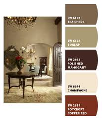 warm color palette chip it by sherwin williams u2013 home