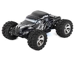 nitro monster truck rc earthquake 3 5 1 8 rtr 4wd nitro monster truck black by redcat