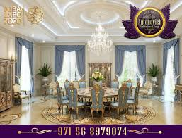 luxury interior design dining room antonovich design ae