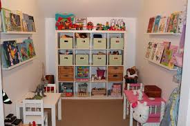 home design cool and creative playroom storage ideas made from