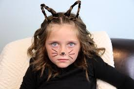 pictures of over the ear hair styles braided kitty cat ears halloween hairstyles cute girls
