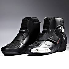 womens motorcycle race boots online shop scoyco leather ankle motorcycle boots men women moto