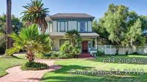 Victorian Homes For Sale by Restored Chula Vista Victorian Home For Sale Built In 1888