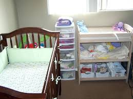 Changing Table Storage Side Table Changing Table Side Organizer Image Of Hanging With