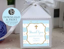 baptism favor tags baby blue baptism favor tag boy baptism gift tags boy baptism