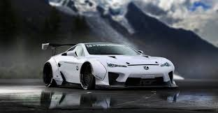 lexus lfa lexus lfa gets a liberty walk makeover
