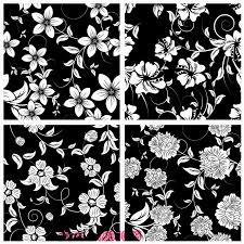glass door stickers black and white flower pattern opaque glass film wardrobe living