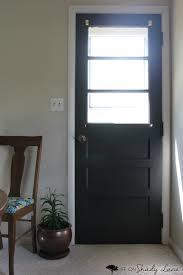a modern farmhouse door makeover life on shady lane
