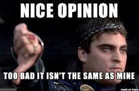 Opinions Meme - when i see someone correctly use the unpopular opinion puffin meme