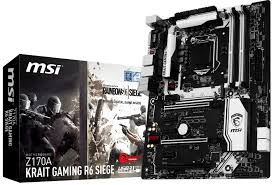 siege corsair msi announces z170a krait gaming r6 siege