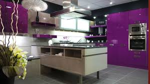 cuisine couleur violet exceptionnel cuisine couleur violet cuisine moderne mauve inspirant
