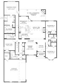 simple open house plans small ranch floor plans house plan ottawa 30 601 showy simple open