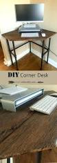 diy corner computer desk articles with corner computer desk with shelves above tag cozy