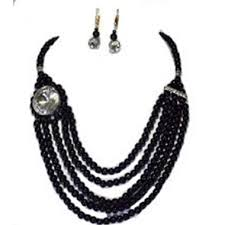 black costume necklace images Costume black necklace indian best jewellery jpg