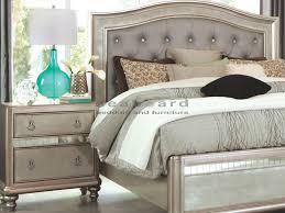 coaster bedroom set 204181 bling game 6pc king bedroom collection set