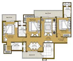 3 bhk 1850 sq ft apartment for sale in ats picturesque reprieves