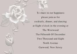 elegant silver flower wedding invitations iwi002 wedding