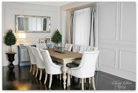 restoration hardware dining rooms our belated dining room reveal classy glam living