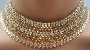 bridal necklace images Diy how to make bridal necklace paper necklace the stunning jpg