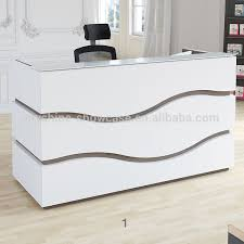 Salon Reception Desk White Salon Reception Desk
