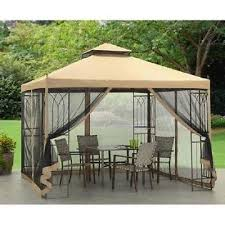 Mosquito Netting Patio Incredible Decoration Yard Shade Endearing Gazebo 1039 X With A