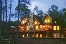 decorating chic exterior design of southland log homes with glass