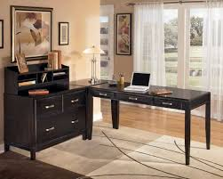 L Shaped Office Desk Furniture Home Office Inspiring L Shaped Home Office Desks For Proper Corner