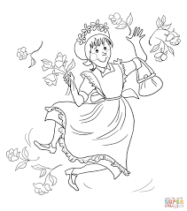 amelia bedelia coloring page free printable coloring pages
