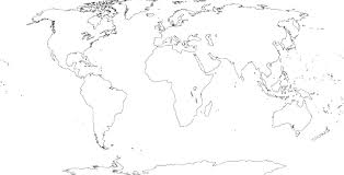 Geography Blog Russia Outline Maps by World Physical Map Black And White Google Search Geography For