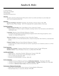 Resume Samples Rn by Full Size Of Resume Templatecertified Nursing Assistant Job