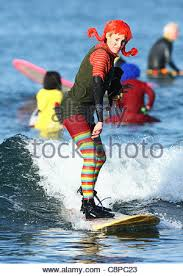 woman surfer as pippi longstocking blackie u0027s halloween costume