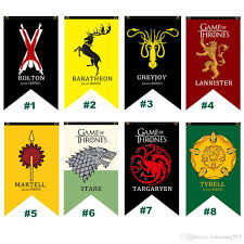 2017 75 125cm game of thrones house targaryen greyjoy lannister
