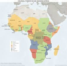 Map Of Africa And Europe by Colonial Powers In Sub Saharan Africa Geopolitical Futures