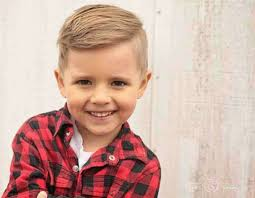 trendy short kids haircuts boys with fade blonde hair my style