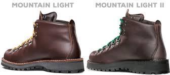 mountain light mojave brawler danner mountain light vs mountain light ii what s the difference