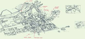 Tufts Campus Map Architectural Illustration By Tom Gastel At Coroflot Com