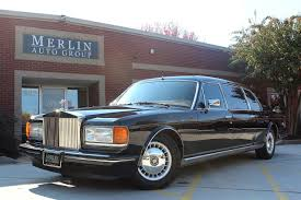 used 1993 rolls royce silver spur ii touring limousine stock p3012