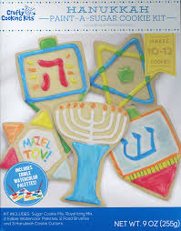 hanukkah cookies happy hanukkah cookie kit cookie mixes grocery