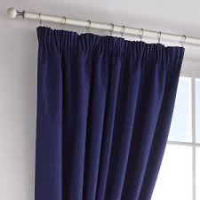wilde darwin blackout curtains u0026 tiebacks navy