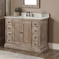 Rustic Bathroom Vanity Cabinets by 1000 Ideas About Rustic Bathroom Vanities On Pinterest Barns