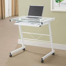 White Wicker Desk by Furniture L Shaped White Computer Desk With Wooden Tabletop