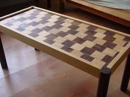 Coffee Table Design Plans How To Build A Cafe Wall Illusion Coffee Table 6 Steps With