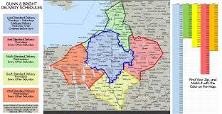 Ou Map Shipping Policies Syracuse Utica Binghamton Dunk U0026 Bright