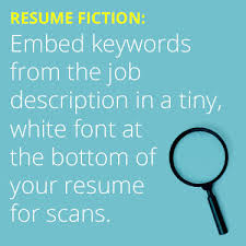 Resume Text How Applicant Tracking Systems Are Changing Resumes Dailyworth