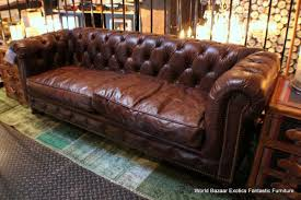 Rustic Leather Sofas Distressed Leather Sofas Tantani Co